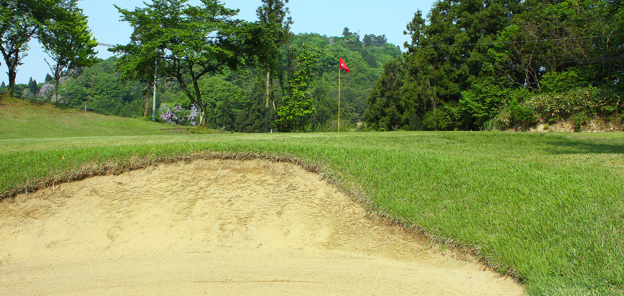 Hole06 Bunker Shot